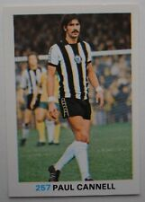 FKS Soccer Stars 1977-1978 NUMBER 257 PAUL CANNELL