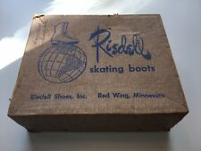 Riedell Vintage Skating Boots Size 6.5 Red Wing
