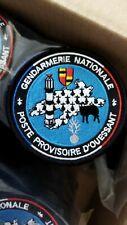 Ecusson Brodé Gendarmerie Poste Provisoire D'ouessant Version 2