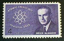 U.S. Scott 1200- Atomic Energy Act, Brien McMahon- MNH OG VF 4c 1962