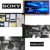RARE🔥 SONY 50V Lcd TV LED Bravia KDL-50W800B Full HDTV 3D 120Hz 2014 W/ Bracket