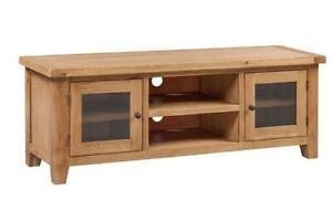 Trewick Rustic Oak Widescreen TV Unit