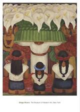 Diego Rivera - Flower Festival: Feast of Santa Anita - 1996 Lot 51