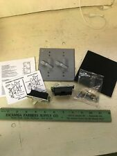 HUBBEL 5124-0 TWO-GANG LEVER WEATHER PROOF SWITCH COVER DIE CAST METAL
