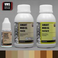 VMS SMART MUD XL 12 oz bundle thick DIY diorama surface texture paste10 COLORS