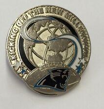 Carolina Panthers NFL Millennium Football Lapel Pin by Peter David 1999