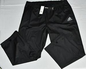 New Adidas Men's Climastorm Provisional Golf Rain Pants Black TM5418F8