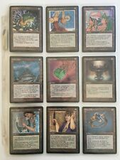 Magic the Gathering: Fallen Empires (1994) complete set (187 cards)