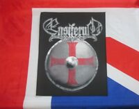 Ensiferum Official Back Patch Backpatch Viking Shield