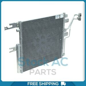 New A/C Condenser for Dodge Ram / Ram 2500, 3500, 4500, 5500 - 6.7L DIESEL ONLY