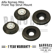ALFA ROMEO MITO 2008>ON X2 FRONT SUSPENSION STRUT MOUNTS AND BEARINGS