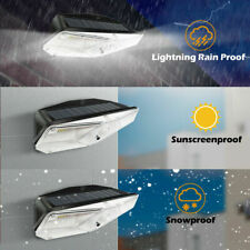 Motion Sensor LED Solar Power PIR Wall Light Waterproof Garden Security Lamp