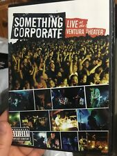 Something Corporate Live At The Ventura Theatre region 1 DVD (music)