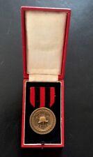 Originales Ehrenzeichen der Feuerwehr Württemberg 25 Jahre im Etui Vorkrieg
