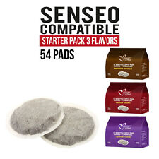 54 Pods Senseo compatible Italian Coffee Pads STARTER PACK! FREE FAST SHIPPING!