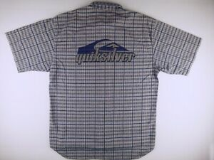 KS800 QUIKSILVER beautiful textured vintage 90's shirt size XL, great condition!