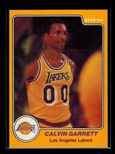 1983-84 Star Company CALVIN GARRETT card # 16