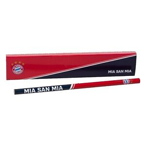 FC Bayern München Bleistiftbox Stifte-Set 4er Set offizielles Lizenzprodukt