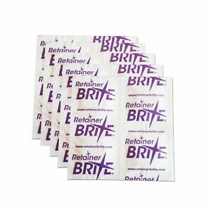 Retainer Brite Cleaning Tablets ~ Removeable Dental Appliances Braces Cleaner