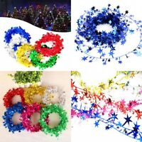 7.5M Christmas Tree Hanging Star Pine Garland Christmas Decoration Ornament Hot