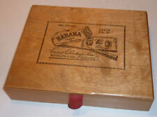 vintage HABANA boite à cigare BOX CIGAR eduard Eichenberger Beinwil a/see SUISSE