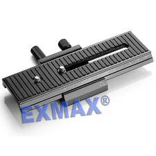 "6.3""/16cm 2 way Macro Shot Focus Rail Slider for CANON NIKON SONY Camera D-SLR"