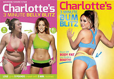 Charlotte Crosby's 3 Minute Belly Blitz & Bum Blitz Fitness Workout 2 DVD