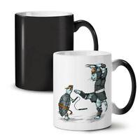 Animal Fight NEW Colour Changing Tea Coffee Mug 11 oz | Wellcoda