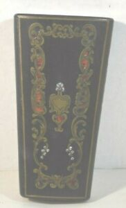 Antique French Boulle Work Etui with Sewing Kit Set