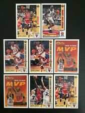 1991/92 Upper Deck International Spanish Michael Jordan Lot x 8