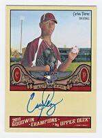 2011 Goodwin Champions Autograph Carlos Prerez Baseball