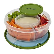 Fit & Fresh Fruit and Veggie Bowl with Removable Ice Pack