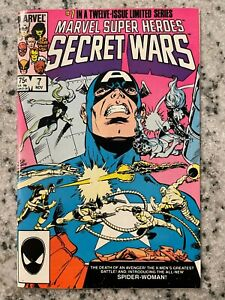 Marvel Super Heroes Secret Wars # 7 NM Comic Book Avengers Hulk Thor J595