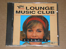 VERVE LOUNGE MUSIC CLUB VOL. 1 (WES MONTGOMERY, OSCAR PETERSON)- CD COME NUOVO