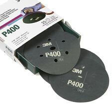"3M 34403 6"" Flexible Hookit Abrasive Dust-Free Discs P400"
