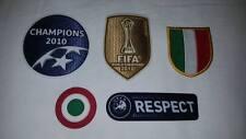 patch toppa INTER 2010 2011 badge CHAMPIONS mondiale SCUDETTO respect COPPA ITAL