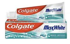 12x Colgate Max White Crystal Mint Gel Whitening Crystal Toothpaste 75ml