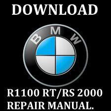 BMW R1100 RT/RS 2000 REPAIR MANUAL DOWNLOAD