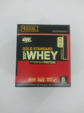 Optimum Nutrition ON 100% Whey Protein Gold Standard Double Rich Chocolate 6 pk