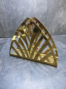 New Ikea TILLSTÄLLNING Napkin Holder Stainless Steel Metallize Stand Brass Color