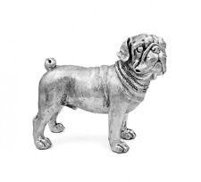Large Contemporary Art English Pug Dog  Statue Decorative Ornament