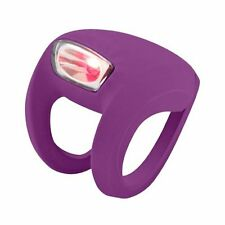 Knog Frog Strobe Rear Bicycle Taillight, Grape NEW