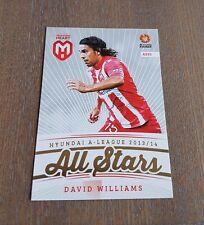 2013-14 A LEAGUE SOCCER TRADING CARDS ALL STARS DAVID WILLIAMS CARD AS20