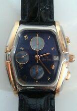 Orologio Chrono Automatico Lucien Rochat KRON acciaio e oro 750