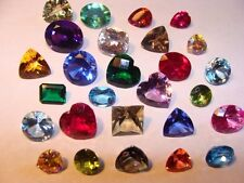 FACETED GEMSTONES Gems ALL NATURAL PERFECT 25 Carats