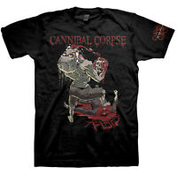 CANNIBAL CORPSE - Rabid - T SHIRT S-M-L-XL Brand New - Official T Shirt
