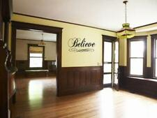 BELIEVE Wall Art Decal Sticker Fancy Home Quote 36""