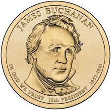 2010 James Buchanan President Dollar Philadelphia Denver  2 Coins