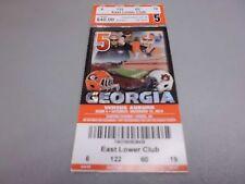 Auburn Tigers vs Georgia Bulldogs November 15,2014 Football Game Ticket Stub
