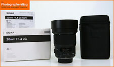 Sigma 20 mm f1.4 DG HSM ART NIKON LENS-Gratis UK